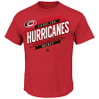 "Carolina Hurricanes Majestic NHL ""Earn Each Play"" Men's Fashion T-Shirt"