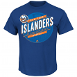 "New York Islanders Majestic NHL ""Earn Each Play"" Men's Fashion T-Shirt"