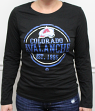 "Colorado Avalanche Women's NHL Majestic ""Finished"" Long Sleeve Black T-shirt"