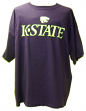 Kansas State Licensed Team Color Logo T-Shirt