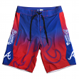 "Atlanta Braves MLB ""Gradient"" Men's Boardshorts Swim Trunks"
