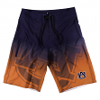 "Auburn Tigers NCAA ""Gradient"" Men's Boardshorts Swim Trunks"