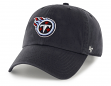 Tennessee Titans 47 Brand NFL Clean Up Adjustable Hat - Navy