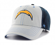 "San Diego Chargers 47 Brand NFL ""Tumult"" Clean Up Adjustable Hat"