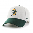 "Green Bay Packers 47 Brand NFL ""Munson MVP"" Structured Adjustable Hat -  Grey"