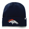 "Denver Broncos NFL 47 Brand ""Raised Cuff"" Cuffed Knit Beanie Hat"