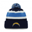 "San Diego Chargers 47 Brand NFL ""Breakaway"" Cuffed Knit Hat - Navy"