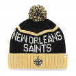 "New Orleans Saints 47 Brand NFL ""Linesman"" Cuffed Knit Hat"