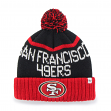 "San Francisco 49ers 47 Brand NFL ""Linesman"" Cuffed Knit Hat"