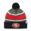 "San Francisco 49ers 47 Brand NFL ""Fairfax"" Cuffed Knit Hat"
