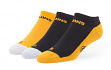 "Boston Bruins NHL 47 Brand ""Gait"" 3 Pack Colorblocked Men's No Show Socks"