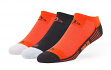 "Baltimore Orioles MLB 47 Brand ""Float"" 3 Pack Colorblocked Men's No Show Socks"