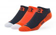 "Detroit Tigers MLB 47 Brand ""Float"" 3 Pack Colorblocked Men's No Show Socks"