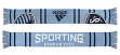 "Sporting Kansas City Adidas MLS ""Performance"" Jacquard Team Scarf"