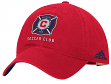 Chicago Fire Adidas MLS Team Slouch Adjustable Hat