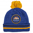 "Denver Nuggets Mitchell & Ness NBA ""Big Man"" Cuffed Premium Pom Knit Hat"