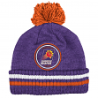 "Phoenix Suns Mitchell & Ness NBA ""Big Man"" Cuffed Premium Pom Knit Hat"