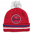 "Washington Bullets Mitchell & Ness NBA ""Big Man"" Cuffed Premium Pom Knit Hat"