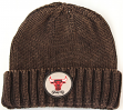 Chicago Bulls Mitchell & Ness NBA Hardwood Classics Ribbed Cuff Knit Hat