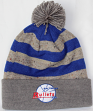 """Baltimore Bullets Mitchell & Ness NBA """"Speckled Crown"""" Cuffed Knit Hat w/ Pom"""