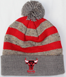 "Chicago Bulls Mitchell & Ness NBA ""Speckled Crown"" Cuffed Knit Hat w/ Pom"