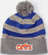 """Cleveland Cavaliers Mitchell & Ness NBA """"Speckled Crown"""" Cuffed Knit Hat w/ Pom"""