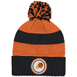 "Phoenix Suns Mitchell & Ness NBA ""Quilted Crown"" Cuffed Knit Hat w/Pom"