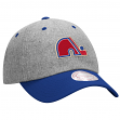 Quebec Nordiques Mitchell & Ness NHL Vintage Wool Slouch Adjustable Hat