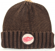 Detroit Red Wings Mitchell & Ness NHL Vintage Ribbed Cuff Knit Hat