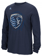 "Sporting Kansas City Adidas MLS ""Prime Time II"" Long Sleeve T-Shirt"