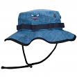"Charlotte Hornets Mitchell & Ness NBA ""Denim Boonie"" Bucket Hat"