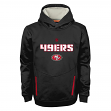 "San Francisco 49ers Youth NFL ""Shadow"" Pullover Hooded Sweatshirt"
