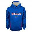 "Buffalo Bills Youth NFL ""Shadow"" Pullover Hooded Sweatshirt"