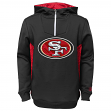 "San Francisco 49ers Youth NFL ""Power Logo"" Performance Hooded Sweatshirt"