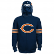 "Chicago Bears Youth NFL ""Helmet"" Full Zip Sweatshirt"