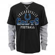 "Indianapolis Colts Youth NFL ""Arched Fade"" L/S Faux Layer Thermal Shirt"