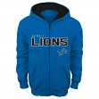 """Detroit Lions Youth NFL """"Stated"""" Full Zip Hooded Sweatshirt"""