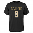 "Drew Brees Youth New Orleans Saints ""Mainliner"" Player T-shirt"