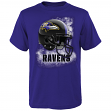 "Baltimore Ravens Youth NFL ""Smash Mouth"" Short Sleeve T-Shirt"