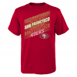 "San Francisco 49ers Youth NFL ""Accelerate"" Short Sleeve T-Shirt"