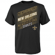 "New Orleans Saints Youth NFL ""Accelerate"" Short Sleeve T-Shirt"