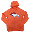 "Denver Broncos Youth NFL ""Chrome"" Performance Pullover Hooded Sweatshirt"