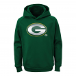 """Green Bay Packers Youth NFL """"Chrome"""" Performance Pullover Hooded Sweatshirt"""