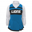 Detroit Lions NFL Toddler Girls Cheer Jumper Dress Set w/ Turtleneck