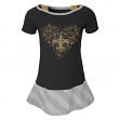 "New Orleans Saints NFL ""Fancie"" Infant Girls Drop Waist Dress"