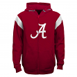 "Alabama Crimson Tide Youth NCAA ""Helmet"" Full Zip Sweatshirt"