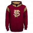 "Florida State Seminoles Youth NCAA ""Helmet"" Full Zip Sweatshirt"