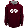 "Mississippi State Bulldogs Youth NCAA ""Primary"" Pullover Hooded Sweatshirt"