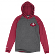 "San Francisco 49ers Mitchell & Ness NFL ""Home Stretch"" Long Sleeve Hooded Shirt"