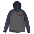 """Chicago Bears Mitchell & Ness NFL """"Home Stretch"""" Long Sleeve Hooded Shirt"""